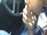 Mamada de una puta en el coche - Video de Mamadas