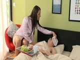 Nadie como una madre sabe cuidar a un hijo