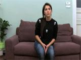 Italiana de ojos azules follando en un casting - Video de Morenas