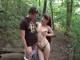 Se fueron al bosque a grabar un vídeo porno amateur