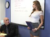 La profesora pelirroja se da a conocer - Video de Putas Cerdas