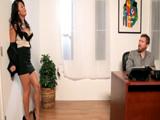 El calentón de la jefa acaba en sexo anal - Video de Folladas Anales
