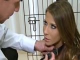 Madison Ivy sale de la jaula para follar
