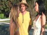 Trío con las vecinas más zorras - Video de Trios X