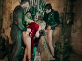 La versión porno de juego de tronos - Video de Orgias Porno