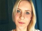 Rubia de ojos azules en un casting porno amateur