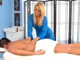 Alexis Monroe, la masajista mas zorra