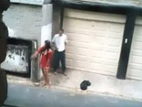 Putita borracha follada en mitad de la calle - Video de Voyeur
