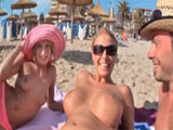 Madura divorciada de ligue por playas españolas