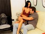 Morena prostituta enculada por su mejor cliente