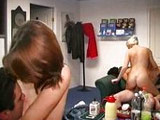 Parejitas swingers amateur haciendo intercambio
