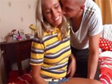 Preciosa rubia sexy follada por su novio - Video de Rubias