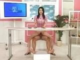 La presentadora de Tv follada en directo