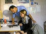 Francesa veinteañera follada por su profesor