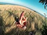 Pareja amateur se graba follando al aire libre - Video de Voyeur